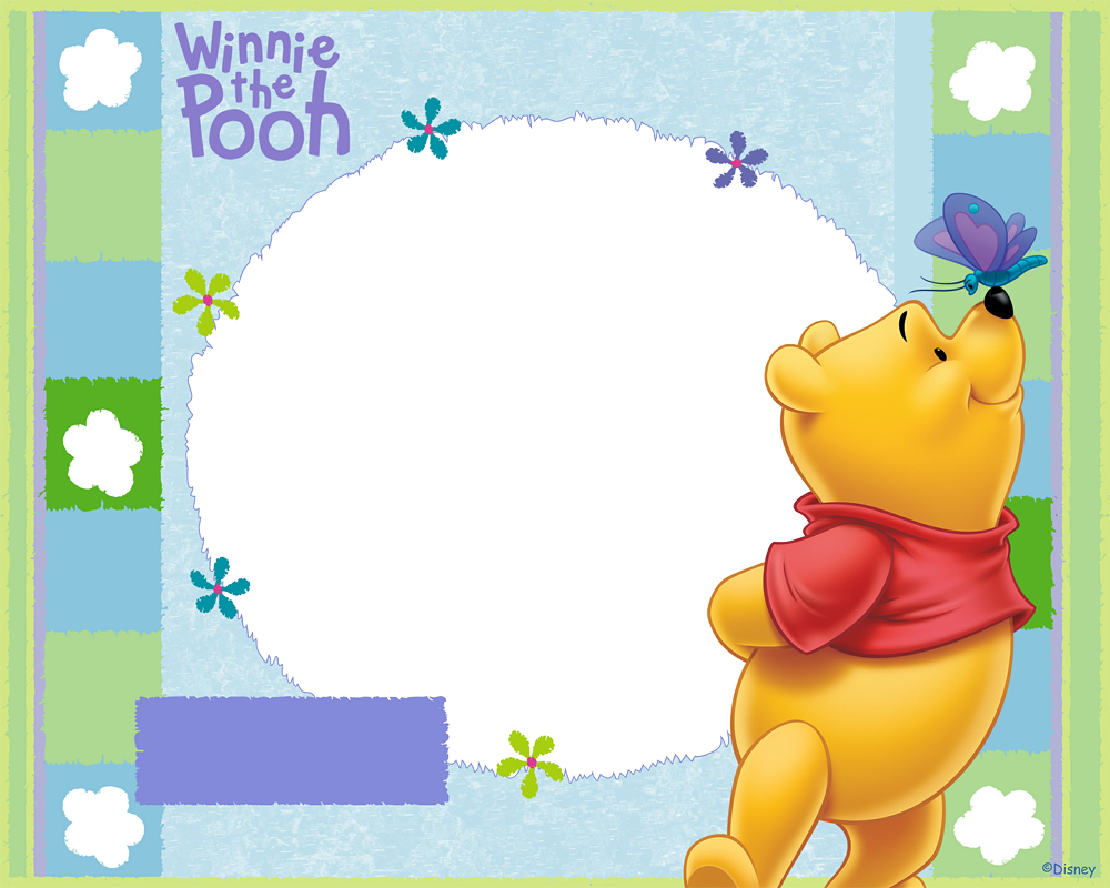 Moderno Winnie The Pooh Marcos De Cuadros Bandera - Ideas ...