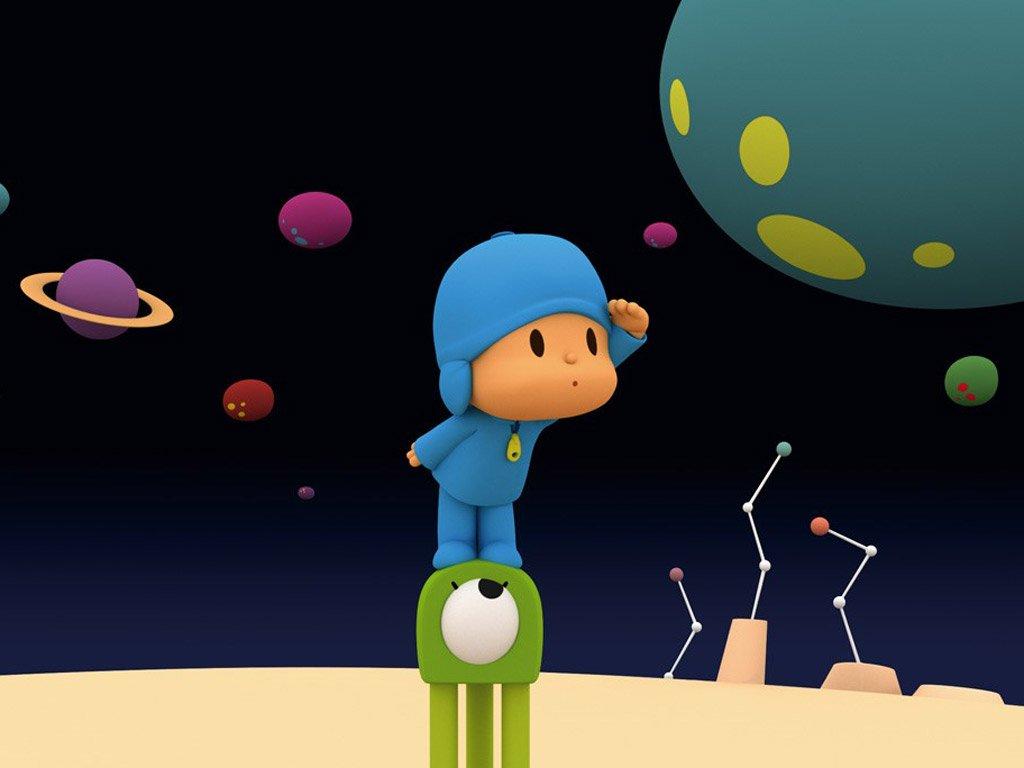 Fondos de pantalla de pocoyo fondos de pantalla y mucho m s - Dibujos infantiles del espacio ...