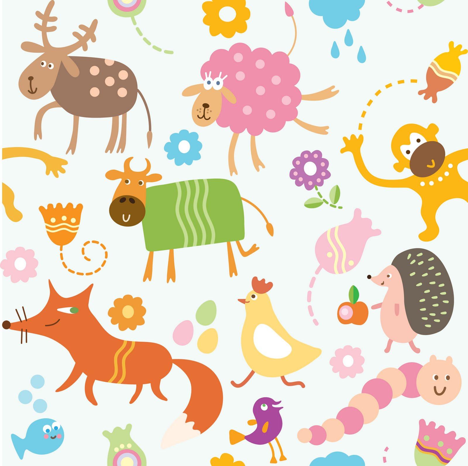 Fondos infantiles de animales fondos de pantalla y mucho m s - Fotos de animales infantiles ...