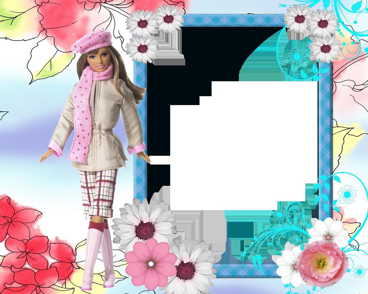 Lujoso Marco De Imagen De Barbie Regalo - Ideas de Arte Enmarcado ...