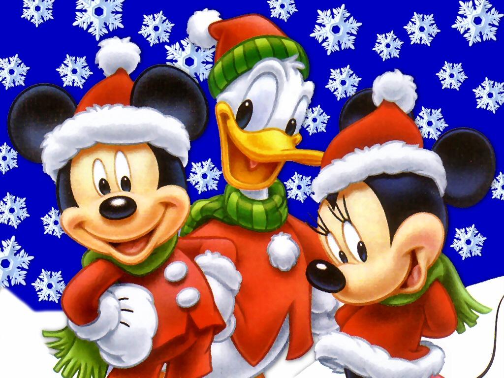 Felicitaciones De Navidad De Disney.Fondos Y Postales Fondos Navidenos De Disney