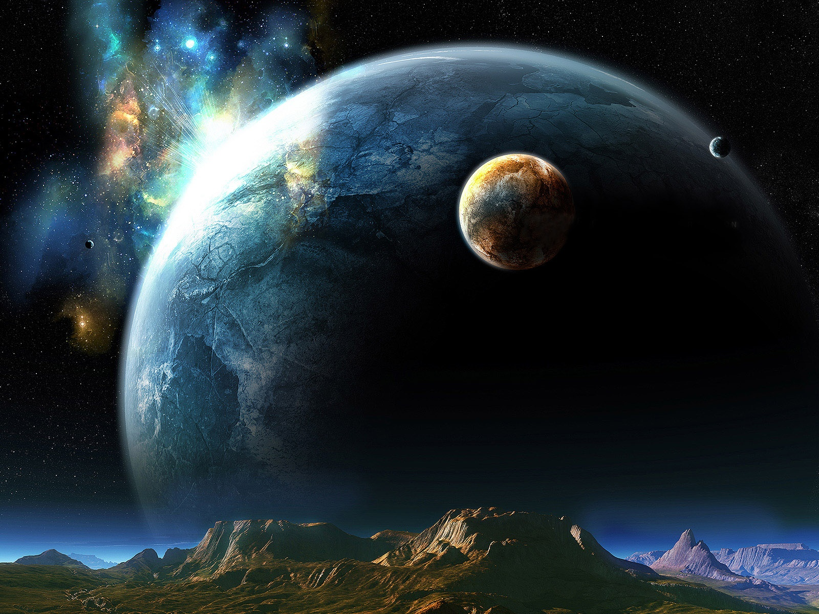 wallpapers of giant planets - photo #20