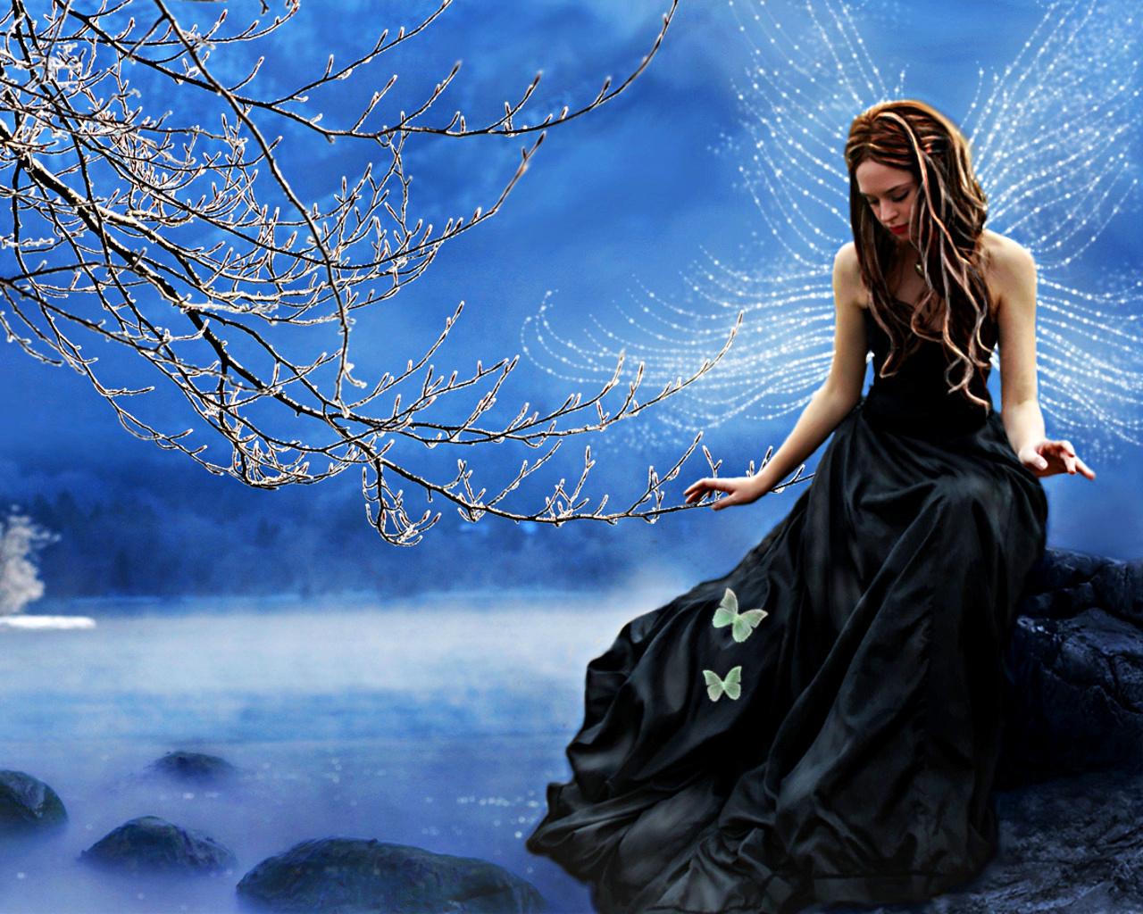 water fairy wallpaper beautiful - photo #3