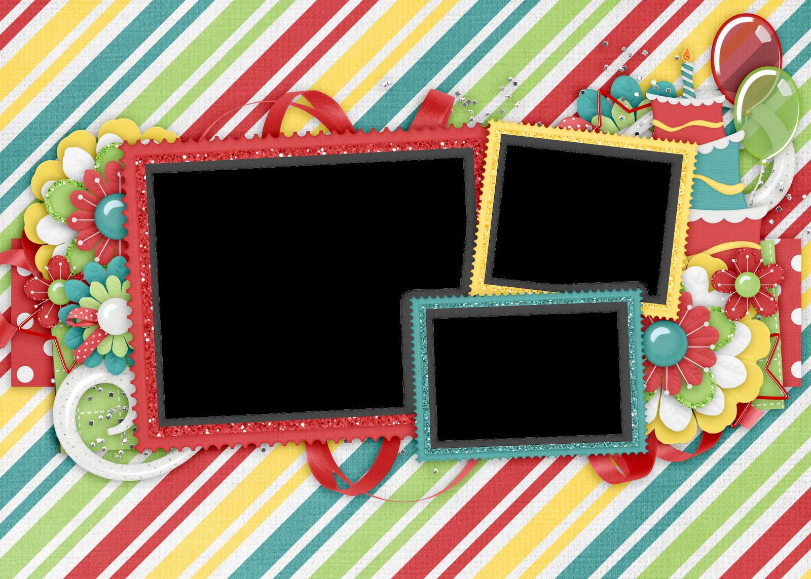 Marcos para fotos infantiles de cumpleaños | Fondos de pantalla y ...