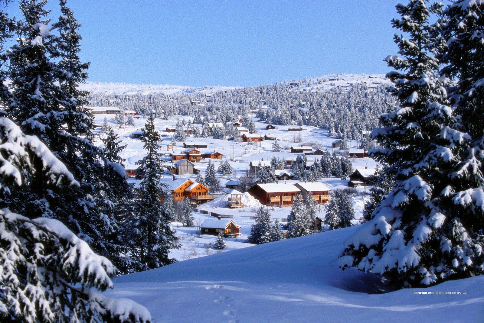 Fondos de paisajes nevados fondos de pantalla y mucho m s - Paisajes nevados para pintar ...