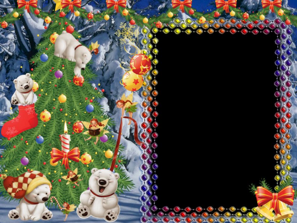 marcos para fotos infantiles de navidad tarjetas
