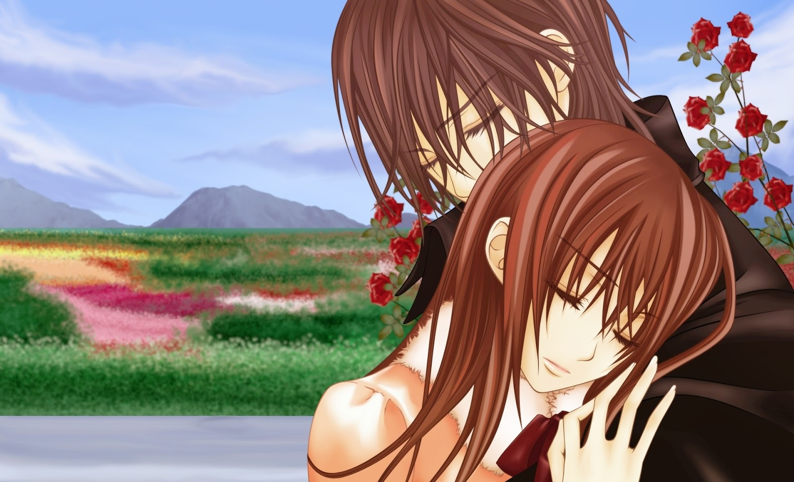 Romantic Love Girl Wallpaper : Mu?ecas manga anime Fondos de pantalla y mucho m?s