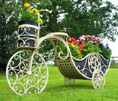 Im genes de flores maceteros bicicletas con flores - Bicicleta macetero ...