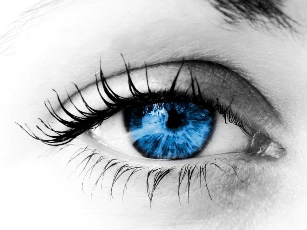 Blue eyes hd 1080p