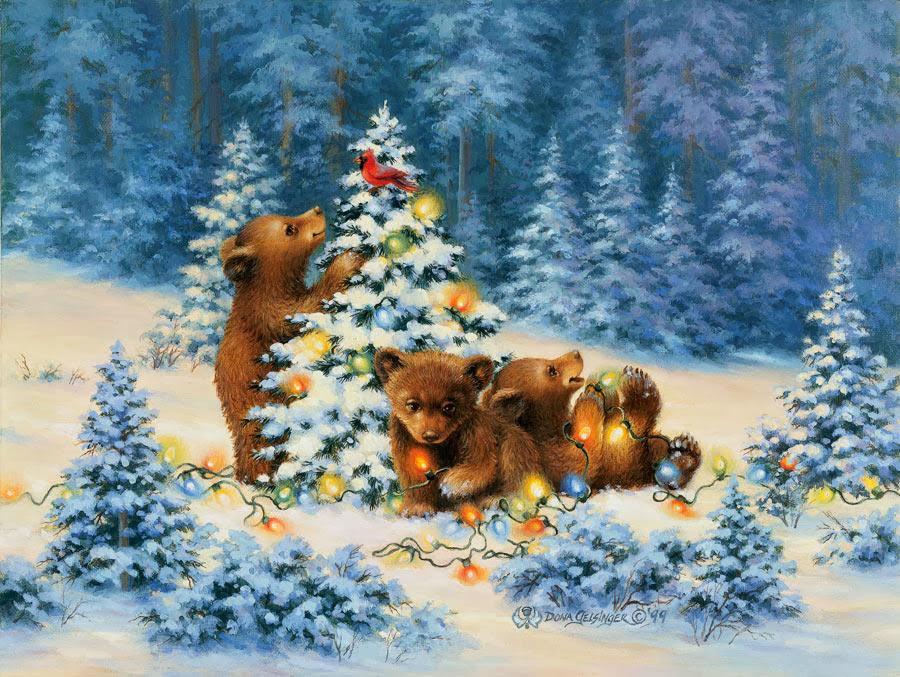 Postales de Navidad antiguas | Fondos de pantalla y mucho más