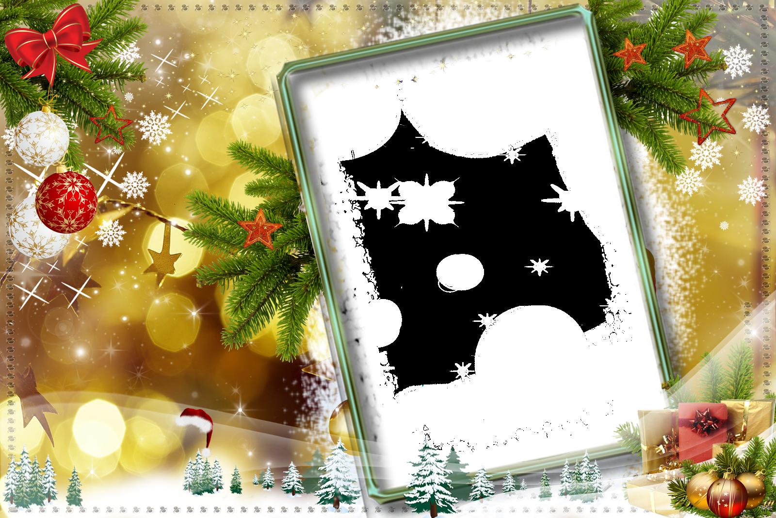 Marcos para fotos de Navidad | Fondos de pantalla y mucho más