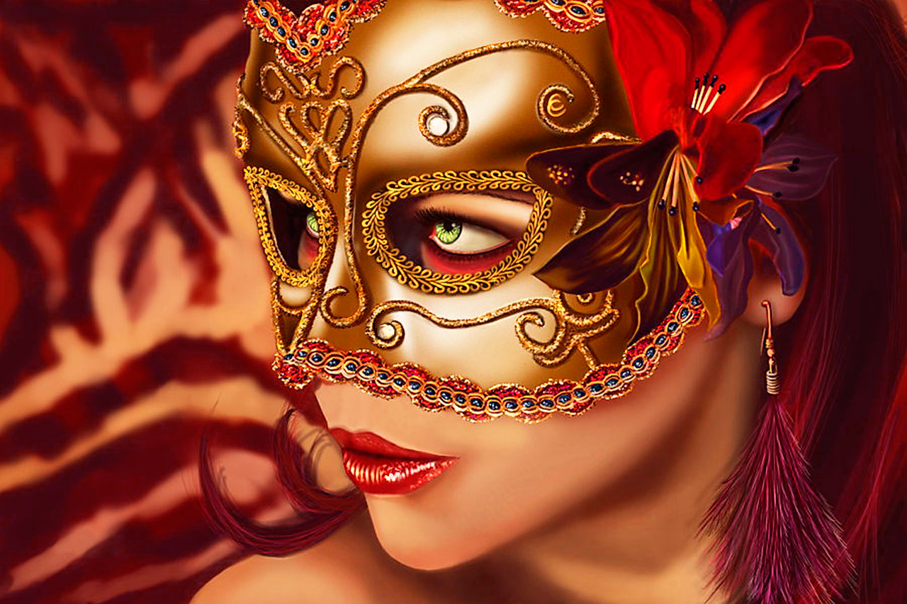 women art mask - photo #5