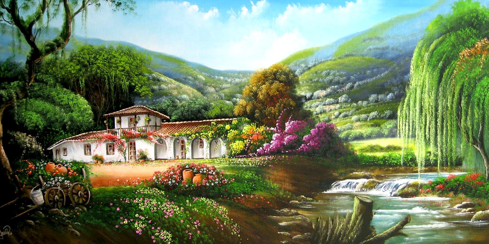 Im genes de paisajes fondos de pantalla y mucho m s for Ver jardines