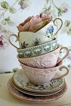 Tazas de te vintage fondos de pantalla y mucho m s for Tazas desayuno el corte ingles