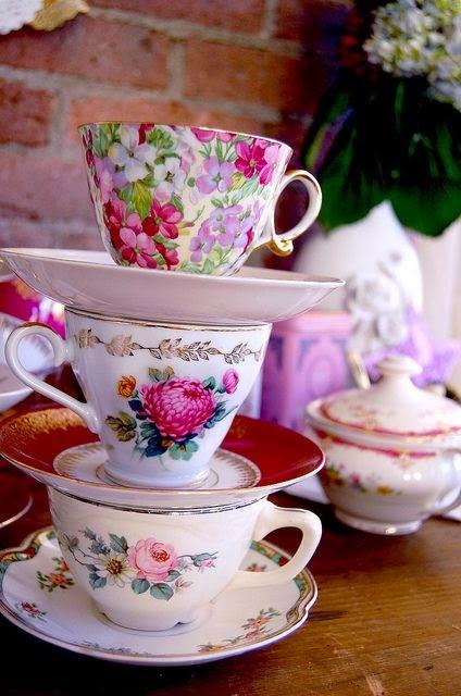 Vajilla y tazas de te vintage fondos de pantalla y mucho m s for Tazas de te estilo vintage