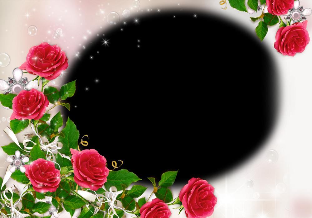 Marcos para fotos con flores | Fondos de pantalla y mucho más