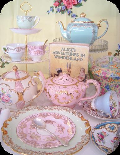 Tazas de te vintage fondos de pantalla y mucho m s for High tea party decorations